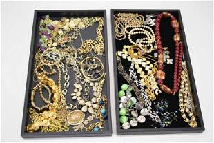 Group of Assorted Costume Vintage Jewelry