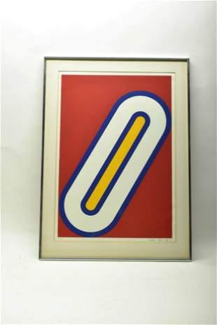 Jonathan Logan Abstract Ltd Ed Lithograph
