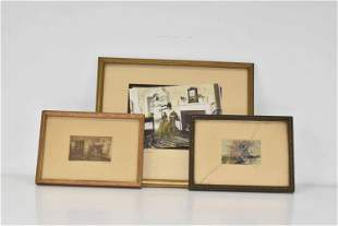 Three Wallace Nutting Photo Prints