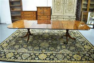 Antique Regency Style Dining Table