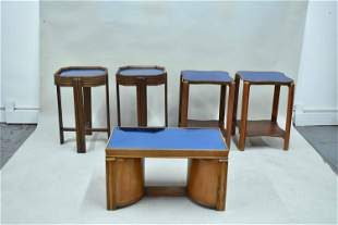Assorted Art Deco Style Occasional Tables