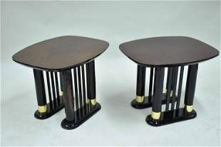 Pair of Modern Contemporary End Tables
