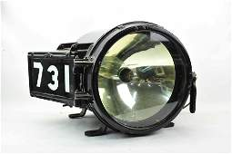Rare Railroad Star Head Light Locomotive # 731
