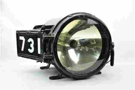 Rare Railroad Star Head Light Locomotive # 731