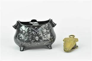 Arts & Crafts Brass Desk Letter Clip