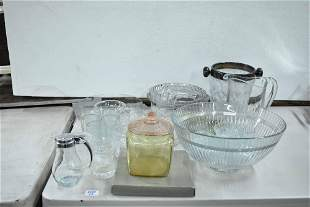 Group of Assorted Glassware