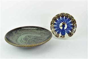 Topferei Eugen Wagner German Pottery Plate