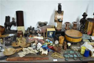 Group of Assorted Table Articles