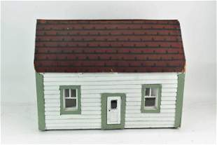 Vintage Childs Doll House and Furniture