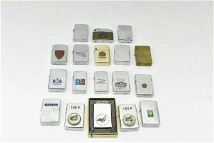 Group of Assorted Vintage Lighters