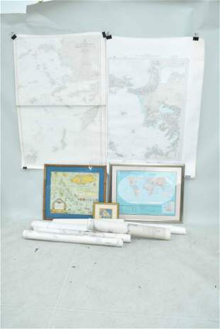 Group of Assorted Cartographs