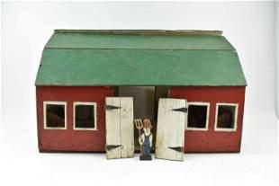 Vintage Child's Toy Barn