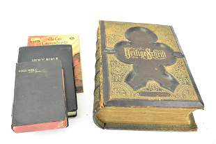 Antique Familien Bibel 1873 German Bible