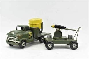 Buddy L Army Electric Search Light Unit Truck