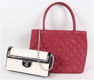 Two Chanel Ladies Handbags