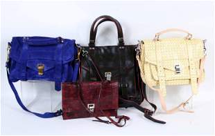 Four Proenza Schouler Ladies Handbags
