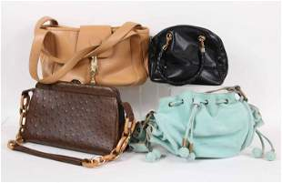 Four Designer Ladies Handbags