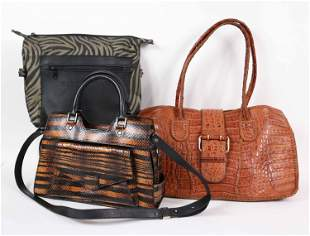 Three Designer Ladies Handbags