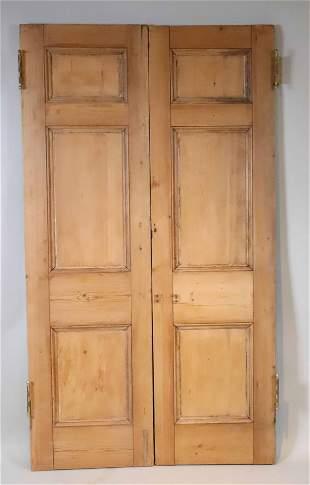 Pair of Pine Doors