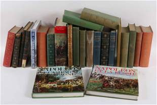 Group of Books Related to Napoleon Bonaparte