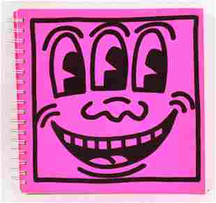 Keith Haring Exhibition Catalog