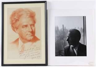 Phillipe Halsman, Photograph, Dag Hammarskjold