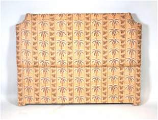 Tropical Pattern Upholstered Headboard