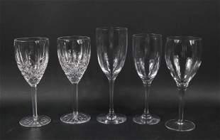 Orrefors Faceted Crystal Stemware