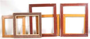 A Group of Six Picture Frames