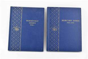 43 Silver Mercury Dimes 1916-1945