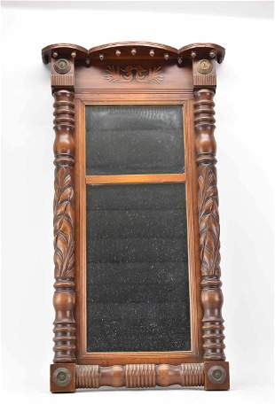 Antique Classical Carved Pier Mirror