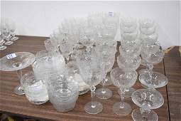 Group of Assorted Elegant Cut Crystal Stemware