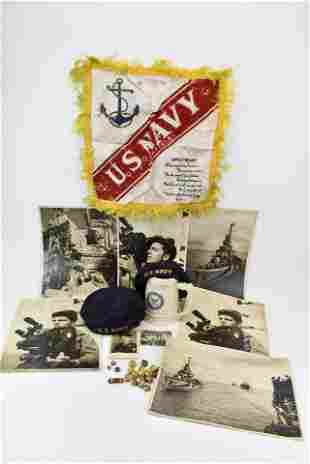 Group of US Navy Articles