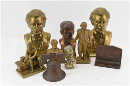Group of President Statues & Busts
