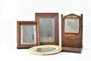 3 Antique Hanging Mirrors