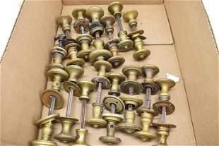 Group of Assorted Brass Door Knobs
