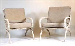 Pair of Arthur Court Lounge Chairs