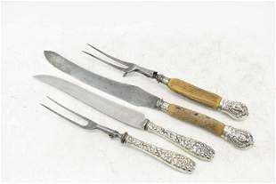 Joseph Rodgers and Sons Stag Horn Carving Set