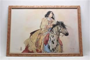 Carol Grigg Brave Horse Framed Print