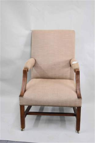 Federal Style Upholstered Easy Chair