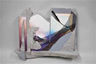 Joyce Zipperer Giza Sunset Wall Sculpture