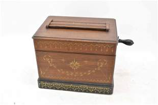 Musical Casket by Mechanical Orguinette Co. NY