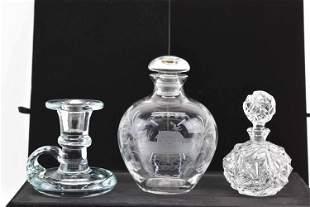 Tiffany & Co. Rock Cut Perfume Bottle