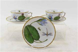 2 Anna Weatherly Cup & Saucer Sets