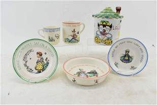 Vintage Italian Ceramic Candy Jar