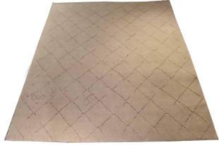 Safavieh Ivory and Beige Geometric Carpet