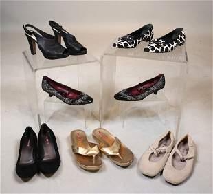 Six Pairs of Prada Shoes