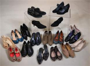 Seventeen Pairs of Ladies Casual Shoes