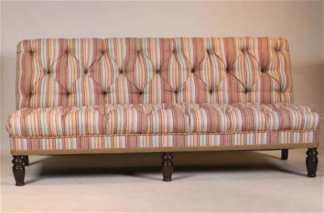 Modern Armless Upholstered Sofa
