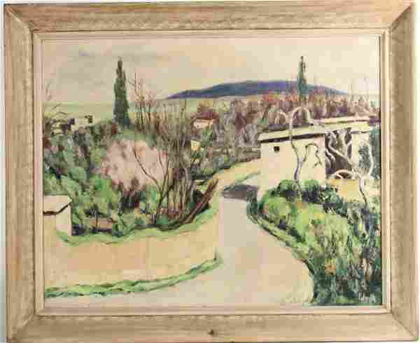 Oil on Canvas, Landscape, 20th C.